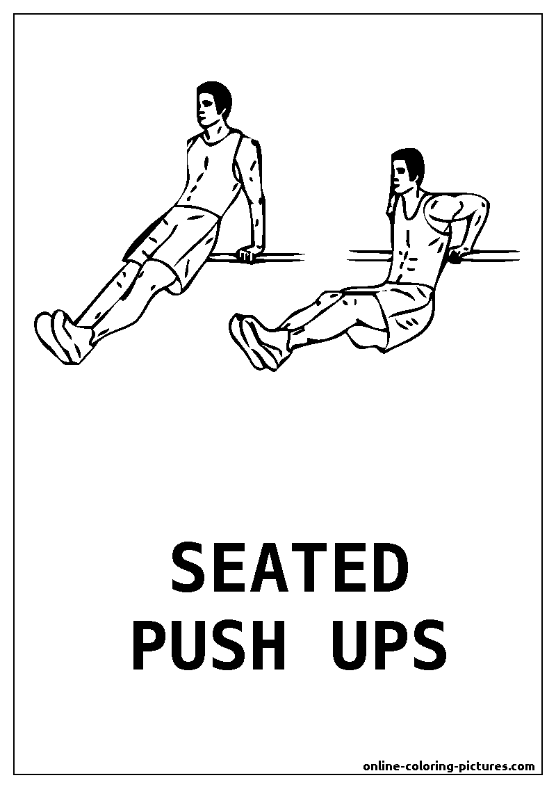 seated pushups
