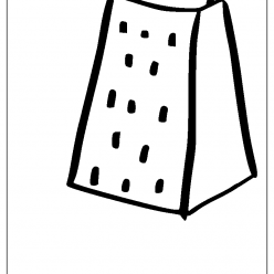 grater coloring picture