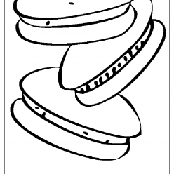 panino coloring picture
